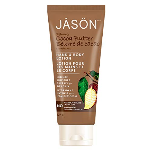 Jason Hand & Body Lotion, Softening Cocoa Butter, 8 Oz