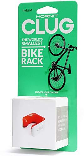 Clug Fahrradhalterung, White/Orange, 33-42 mm