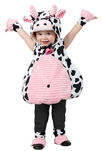 Princess Paradise girls Pink Belly Cow Baby Toddler Costume, As Shown, X-Small US