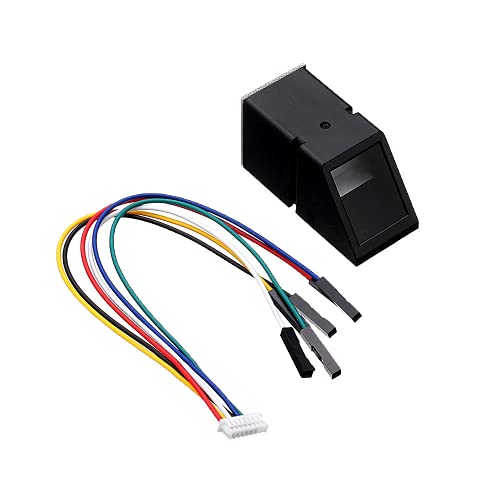 DollaTek Módulo de Sensor de Lector de Huella Digital óptico de luz Azul para Arduino Mega2560 UNO R3