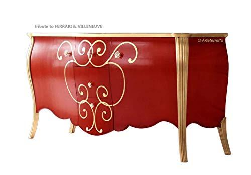 Arteferretto Meuble Buffet Fabrication Artisanale Largeur 200 cm