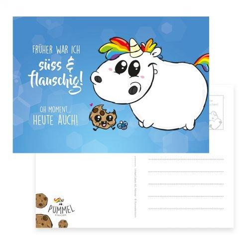 Pummel & Friends - Postkarte (quer) - Babypummel