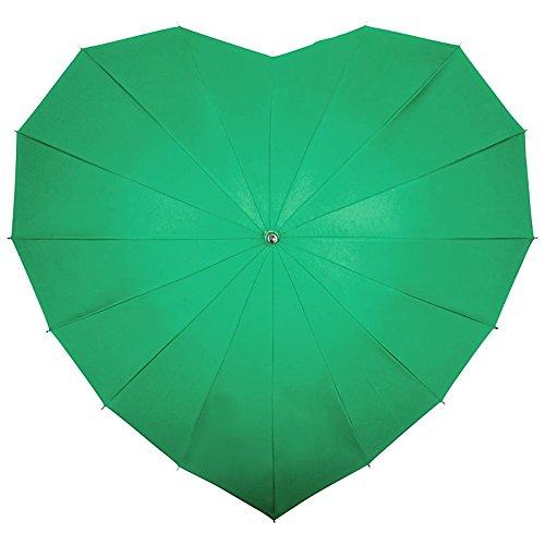 VON LILIENFELD Regenschirm Damen Sonnenschirm Brautschirm Hochzeitsschirm Unter dem Tropenblatt