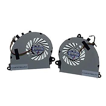 Rangale Replacement CPU + GPU Cooling Fan for MSI GS70 GS70 2OD GS70 2PE GS70 2QE GS70 ONC GS72 GS72 GS72 6QD GS72 6QE MS-1771 MS-1773 Series Laptop PAAD06015SL N184 N197 N229 N269 N347