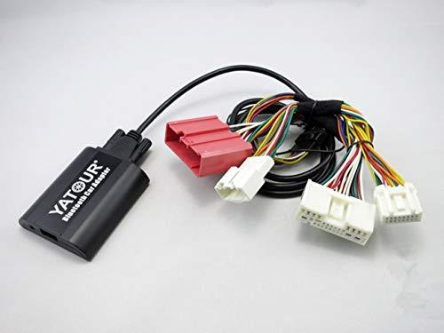 Mazda - Adaptador Bluetooth para Coche, estéreo Digital, AUX, Manos Libres, con Carga y Entrada de 3,5 mm para Mazda 3 5 6 CX-5 CX-7 RX-8 2009-2012 (BTA-MAZ2)
