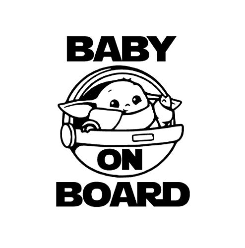 """Baby on Board decal (Qty of 2) 4""""x5"""" and 5""""x6"""" ~ Car Sticker, Wall Decal, Home Decor"""