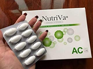 1X Nutriva SOD AC Acne collapse Supplements 30 tablets Formula Reduce Acne