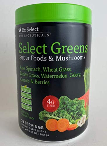 Rx Select Nutraceuticals Select Greens
