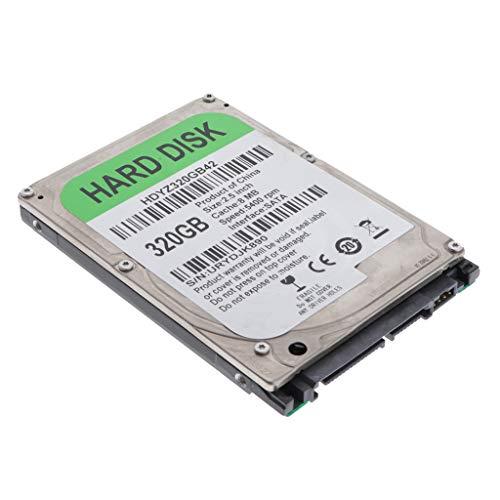 Almencla 2,5   Hard Disk Meccanico HDD SATA 8M Disco Rigido Interno ad Alte Prestazioni per Computer - 320GB
