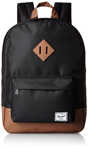 Herschel Heritage Youth zaino 37 cm black-tan