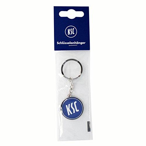 Schlüsselanhänger Metall ca.9x3,5 cm Karlsruher SC