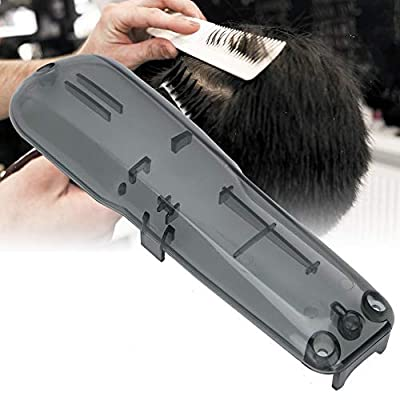 Hair Clipper Replacement Cover,Professional Hair Clipper Replacement Cover Electric Hair Cutter Trimmer Cover Shell Hair Clipper Transparent Protective Cover Suitable for Wahl (Gray)