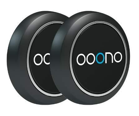 ooono Verkehrsalarm 2 Pack: Warnt vor Blitzern und Gefahren im Straßenverkehr in Echtzeit, automatisch aktiv nach Verbindung zum Smartphone über Bluetooth, Daten von Blitzer.de