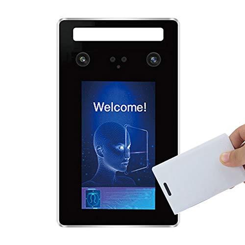 HHJY Intelligente Biometrische Anwesenheitsmaschine, 5 Zoll TFT Wiegand 26/34 RFID-Zugangskontrolle,Mit Gesichtserkennung Für Die Anwesenheit Im Büro