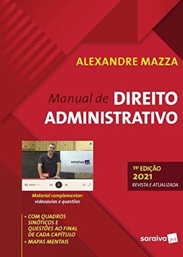 Manual De Direito Administrativo - 11ª Edição 2021