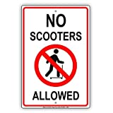 YASMINE HANCOCK No Scooters Allowed with Graphic
