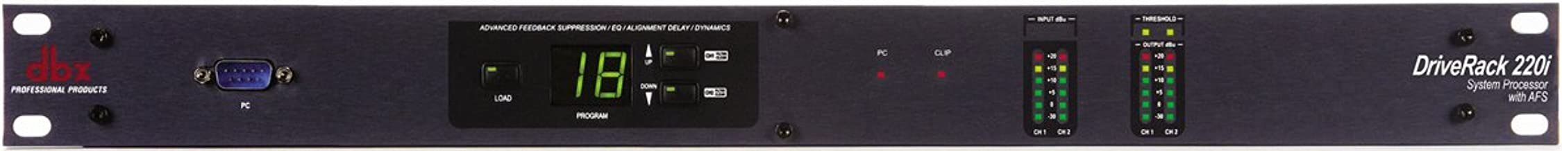 dbx DriveRack 220i System Processor with Advanced Feedback Suppression