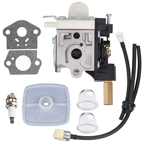 Hipa SRM210 Carburetor w Tune Up Kits for Echo SRM 210 SRM211 GT200 PE200 PE201 GT201i HC150 HC151 PPF210 PPF211 Trimmer Weedeater