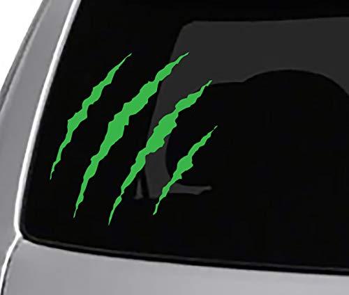 Seek Monster Claw RIPS Vinyl Decal CAR Truck Window Sticker Cool Headlights