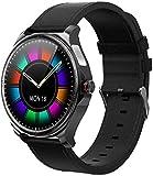 Reloj Inteligente Bluetooth Mano Libre Full Touch Fitness Tracker Band Hombres Mujeres ECG Frecuencia Cardíaca Ronda Música Deportes Smartwatch-C-IS-D.