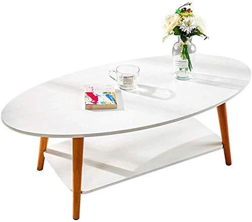 Mesa de centro Mesa de 2 capas mesa de centro, mesas consola sofá, mesas portátiles, mesas de acento con bastidor de almacenamiento, el trabajo comestible, escritura, mobiliario de oficina, mesas for