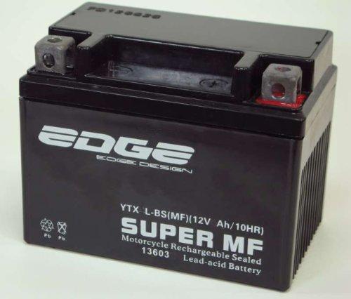 Batería para Scooter, sellada, sin Mantenimiento, 12 V 4 Ah, YB4L-B, YTX4-BS, válida para Muchas Scooters (Aprilia, Baotian, Rex, Yamaha, etc.)