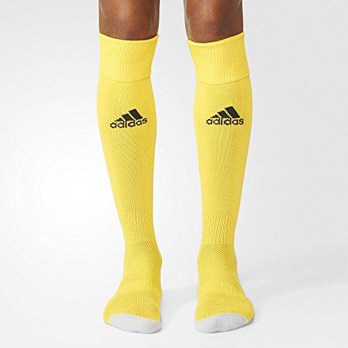 adidas Milano 16 Sock Socks, Hombre, Amarillo/Negro, 43-45 EU, 1 par
