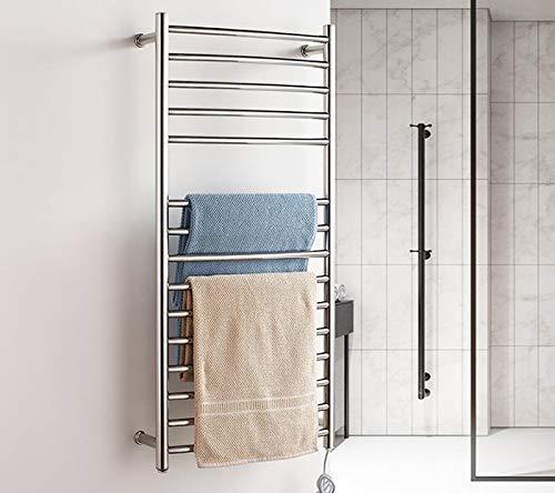 WYZXR Badezimmer-Zusätze, an der Wand befestigter elektrischer Handtuchwärmer-Badezimmer-Heizkörper des Edelstahls, 1070 * 520 * 125MM