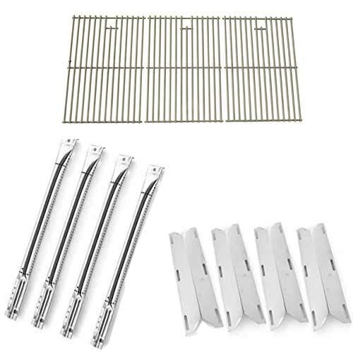 Oceanside bbq parts factory Replacement Kit for Charmglow 720-0536 Gas Model Includes Burners, Heat Plates and Stainless Steel Grates Grill Heat Plates