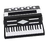 SM SunniMix 1x Miniatura de Modelos de Acordeón Adorno Decorativos Productos de Instrumento Musical