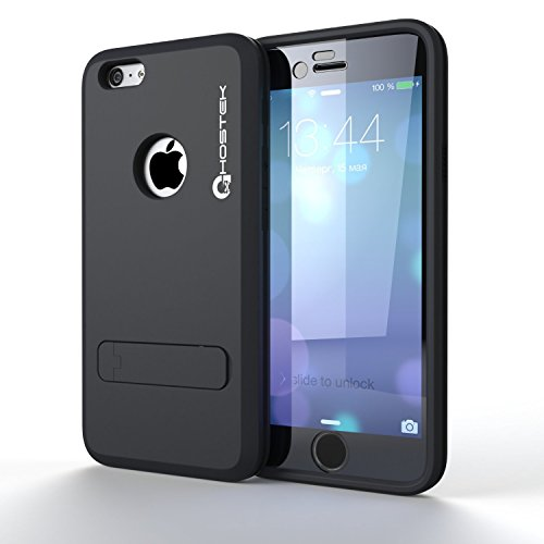 iPhone 6 Plus Case, Ghostek Bullet Charcoal/Dark Navy iPhone 6 Plus Case W/ iPhone 6 Plus Screen Protector - Lifetime Warranty - Slim Armor 4 Layer Protective Fitted Smooth Cover Case for iPhone 6 Plus GHOCAS205