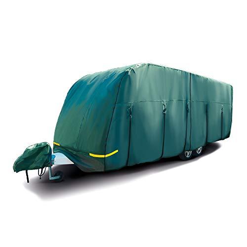 Maypole Schutzplane/Vollgarage für Wohnwagen