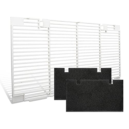 Seven Sparta RV A/C Ducted Air Grille for Dometic 3104928.019 with 2 Filters, Duo-Therm Replace Air Conditioner Vent cover, 14.1