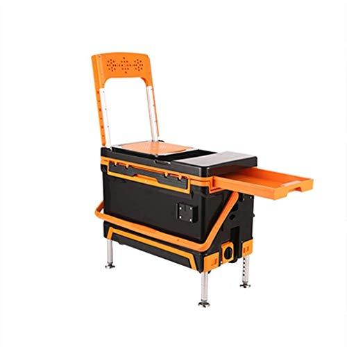 Yyqt Angeln Box, Multifunktions Angeln Eimer Angelausrüstung Accessoires Aufbewahrungsbox Sea Fishing Box Incubator Kühlschrank Cold-Box