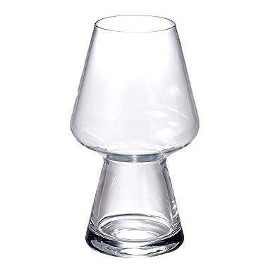 Luigi Bormioli Birrateque Craft Beer Glasses Seasonal (Set of 2), 23.25 oz, Clear