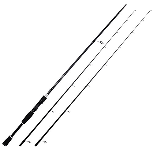 KastKing Perigee II Fishing Rods, Spinning Rod Twin-tip 7ft -M and MH-Fast(2Tips+1 Butt Section)