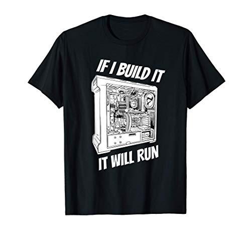 PC Builder Spruch I Computer Builder & PC Gamer Festplatte T-Shirt