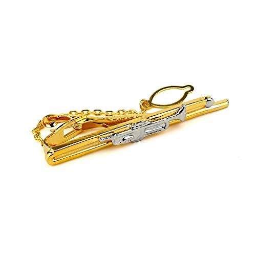 NObrand Kleine Form Metall Kragen Clip angepasst benutzerdefinierte Herren Business professionelle Kragen Clip personalisierte Krawatte Clip