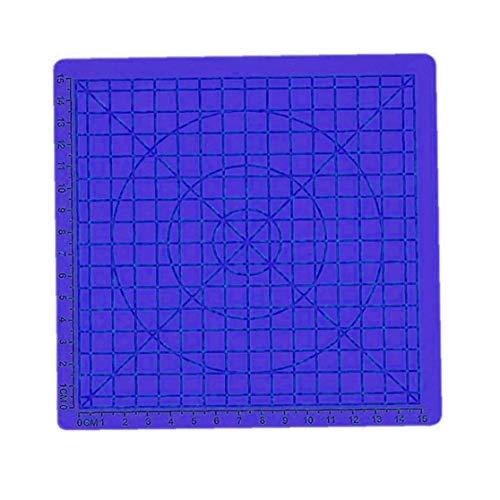 tJexePYK 3D-Pen Mat Craft Zeichenwerkzeuge 3D-Druck-Auflage Silikon-Matte Große Basic Template habende Werkzeuge für die 3D-Anfänger für Kinder