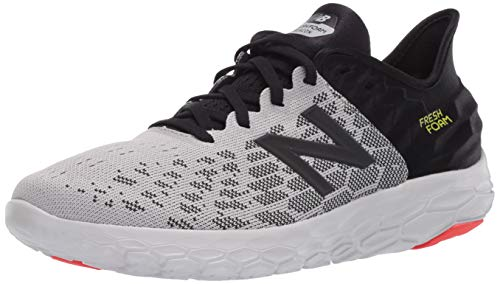 New Balance Men's Fresh Foam Beacon V2 Running Shoe, Rain Cloud/Black, 13 M US