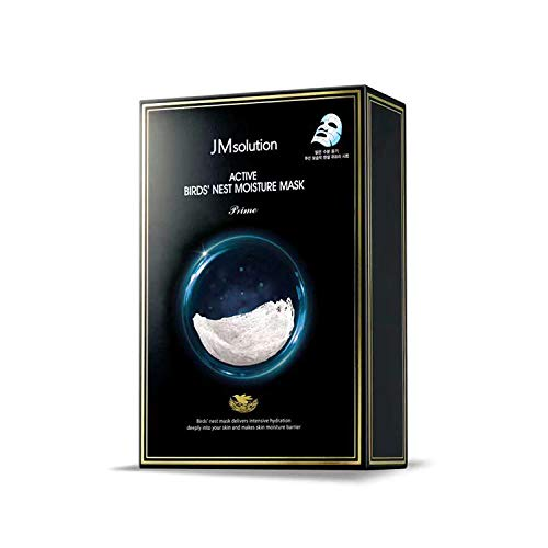 10 PCS JM Solution Active Bird's Nest Moisture Mask Moisturizing And Nourishing Mask