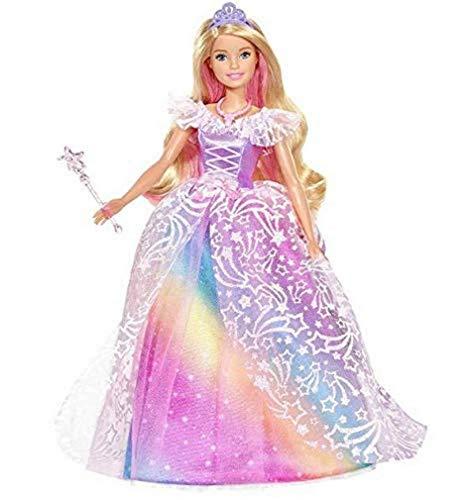 Barbie- Dreamtopia Superprincesa, Edad Recomendada: 3-10 años, Multicolor (Mattel GFR45)