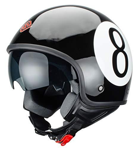 Casco De Moto 3/4 marca Faseed