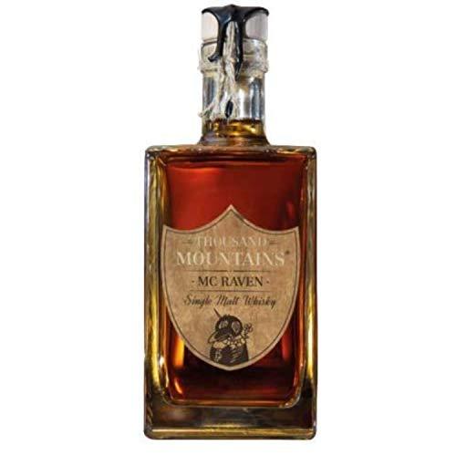 Thousand Mountains Mc Raven Single Malt Whisky - 46,2% Vol. – (1 x 0.7 Liter) - Single Malt Whisky