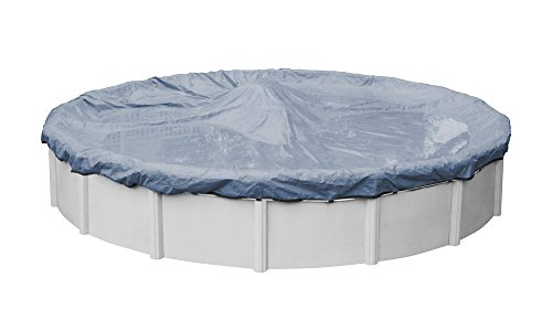 Pool Mate 4624PM Classic Winter Pool Cover for Round Above Ground Swimming Pools, 24-ft. Round Pool
