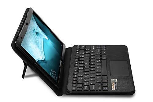 SonnyGoldTech MQ für Huawei MatePad T10s - Bluetooth Tastatur Tasche mit Multifunktions-Touchpad für Huawei MatePad T 10s | Tastatur Hülle Tastatur für MatePad T10s | Tastatur Deutsch QWERTZ
