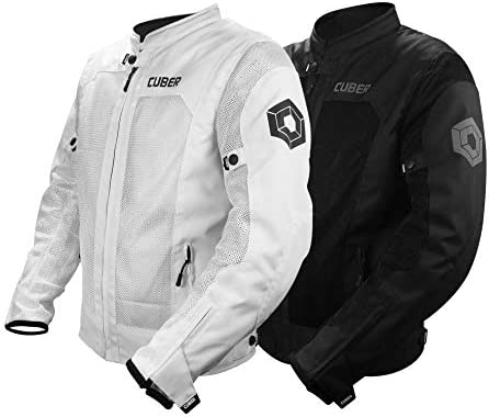 Cuber Motorcycle Mesh Jacket Riding Air Biker Jacket CE Armored Breathable Summer Motorbike product image