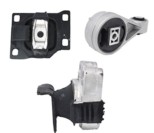 ENA Motor Mount Set of 3 Compatible with 2005 2006 2007 Ford Focus 2.0L Compatible with Auto Trans
