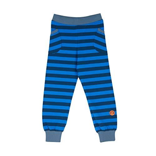 FINKID Streifen Leggings TIIKERI Majolica Blue Gr. 110 120