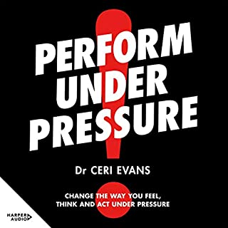Perform Under Pressure audiobook cover art